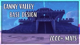 Canny Valley Base Design - Fortnite Save the World