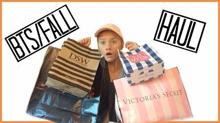 HUGE Back To School/Fall Clothing & Accessories Haul! Victoria's Secret PINK, Bath & Body Works, Fo