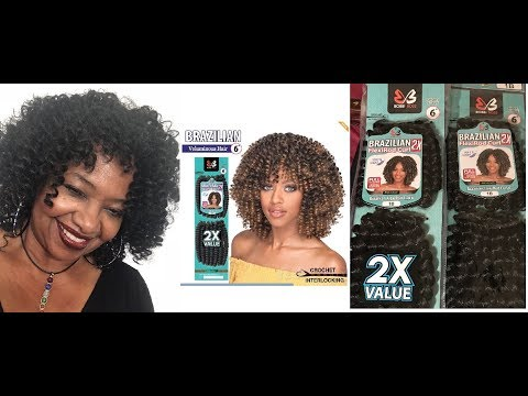 MARZITA B da BOSS B. IN BOBBI BOSS 2X FLEXIROD CURL CROCHET BRAIDS