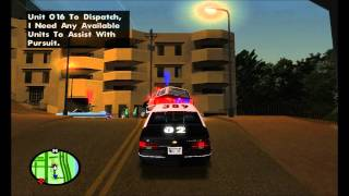 LAPD 1992 Chevy Caprice Pursuit - GTA SA