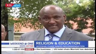 KESSHA chair makes recommendation on teaching religious studies in schools