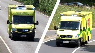 (2) South East Coast Ambulances - Emergency Ambulance - Mercedes Sprinter