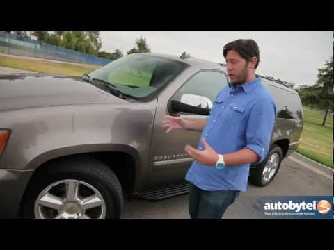 2012 Chevrolet Suburban Test Drive & SUV Car Video Review