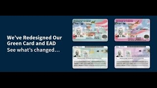 Welcome to the new permanent resident card and employment authorization document