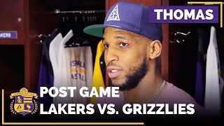 Thomas Robinson On Taking Steps Forward As A Team, And Individually