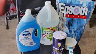 CHEAP HOMEMADE WEED & GRASS KILLER PET SAFE NON TOXIC NO CHEMICALS LIFE HACK