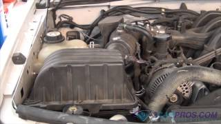 Air Filter Replacement Ford Explorer