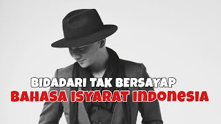 ANJI   BIDADARI TAK BERSAYAP (Cover BISINDOBahasa Isyarat Indonesia)