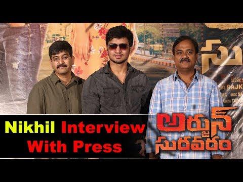 Nikhil Siddharth Pressmeet About Arjun Suravaram