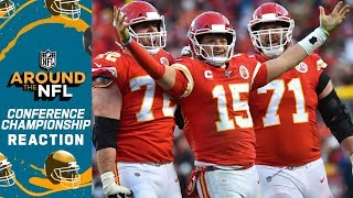 Around the NFL Conference Championship Reaction Show