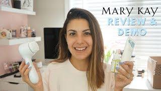 NEW Mary Kay Naturally Skincare Line & Skinvigorate Sonic Skin Care System   REVIEW & DEMO