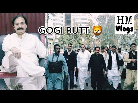 Gogi butt / sher-e-lahore / underworld don / shafique boxer / full protocol / gunmens / hm vlogs.
