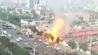 Two injured in gas explosion in N China restaurant