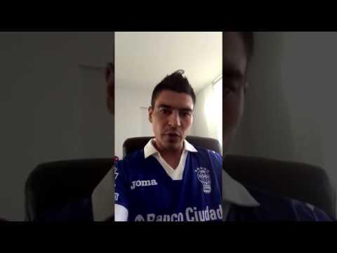 Mensaje de Paolo Duval Goltz a todo el mundo Huracán