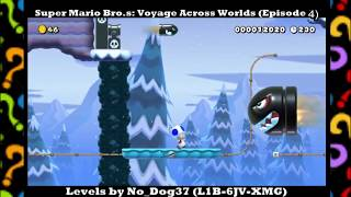Shivering through the Snow! | SMM2: Super Mario Bro.s Voyage Across Worlds by No_Dog37 Episode #4