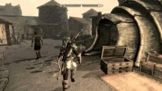 Let's play The Elder Scrolls V Skyrim Dragonborn Часть 32 Мод телепорта на драконе