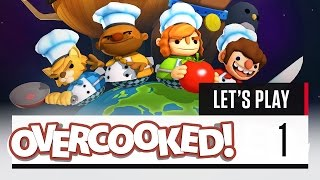 Overcooked Gameplay: MUCH PANIC | Let's Play Overcooked [Part 1]