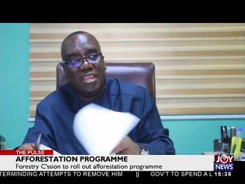 Afforestation Programme - The Pulse on JoyNews (8-8-18)