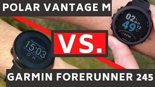 Polar Vantage M vs. Garmin Forerunner 245: Welche Sportuhr ist besser?