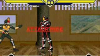 Kamen rider mugen video