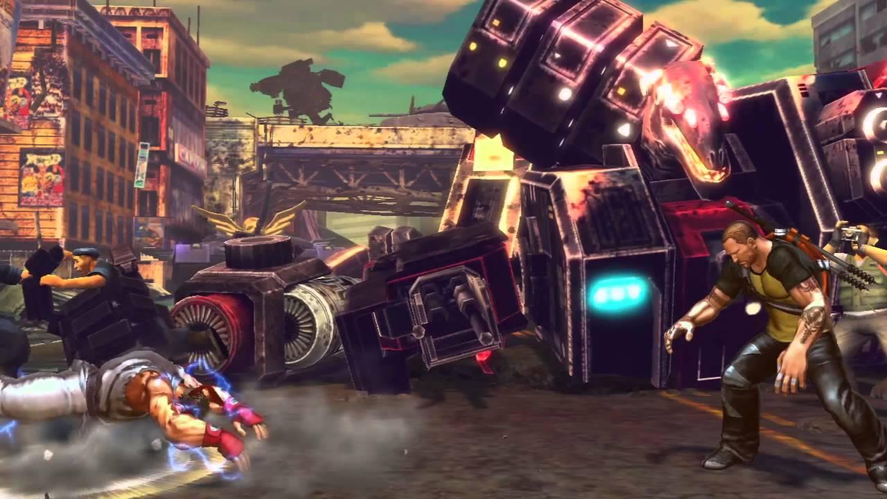 See Mecha Pac-Man And Fat Mega Man Beat Ass In Street Fighter X Tekken