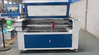 10mm acrylic sheet cutting by 150w CO2 laser engraving cutting machine