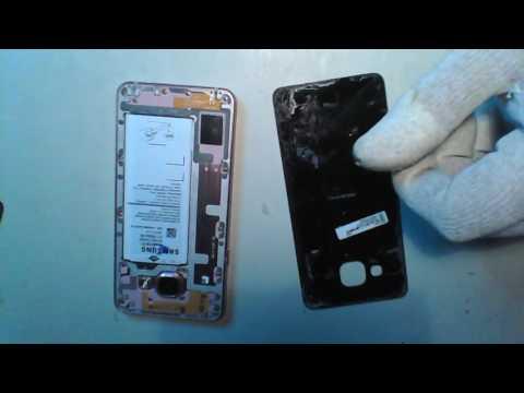Samsung Galaxy A3 (SM-A310F)-Disassembly