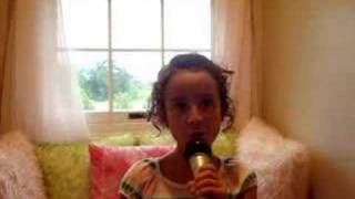 "Celia singing ""A Place in this World"" by Taylor Swift"