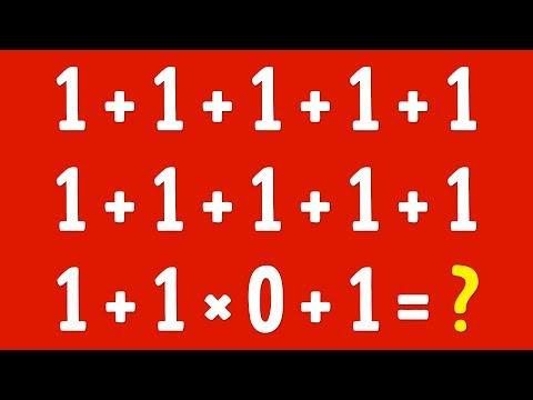 ¡Estos Acertijos Matemáticos Te Pondrán a Prueba!