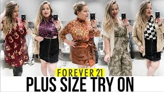 INSIDE FOREVER 21'S DRESSING ROOM | Fall 2018 Plus Size Try On