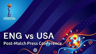 ENG v. USA - Post-Match Press Conference