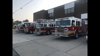 Busy B-Shift: fire call, MVC and high priority EMS