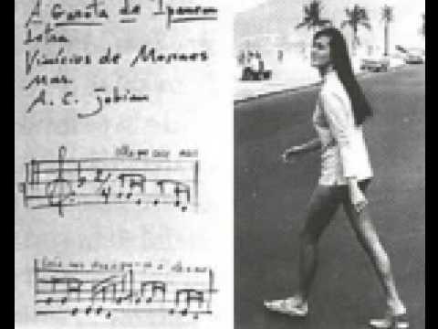 The Girl From Ipanema Antnio Carlos Jobim Free Guitar Tabs