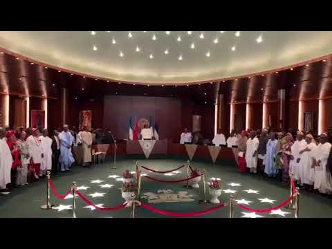 Swearing in of ministers by president muhd buhari