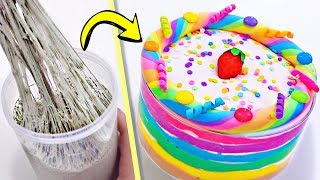 Extreme SLIME MAKEOVER! Can You Transform EVERY Slime Into RAINBOW SLIME??