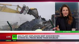 Gas prices double as Austrian plant explosion sends shockwaves