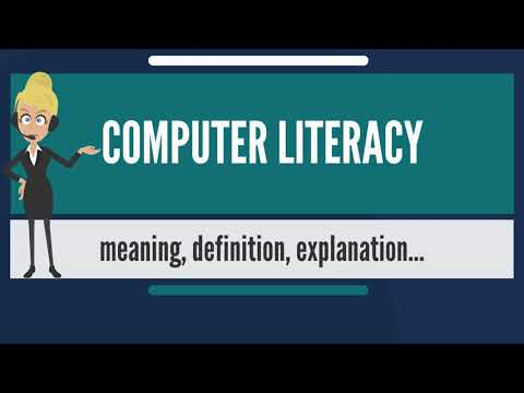 What is COMPUTER LITERACY? What does COMPUTER ...