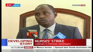 KNUN want 2017 nurses deal effected in full