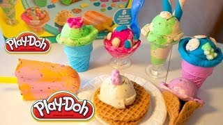 Play-Doh Scoops 'n Treats | Play-Doh Ice Cream Treats | B2cutecupcakes