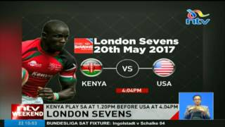 Kenya to play South Africa and USA in London Sevens