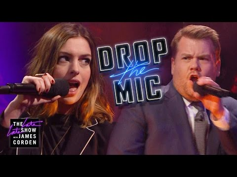 Drop the Mic vs. Anne Hathaway
