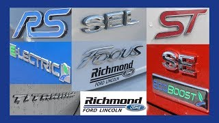 Ford Focus Trim Levels: What's The Difference?