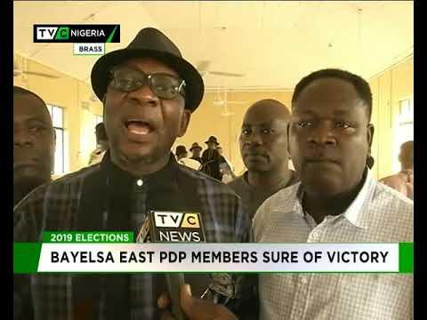 Bayelsa East PDP members sure of victory in 2019