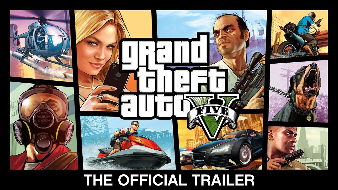 Grand Theft Auto V's Official Trailer: Explosions, Plot, Locations… Oh My.