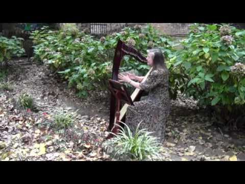 Title A Thousand Years by Christina Perri   Cover on harp