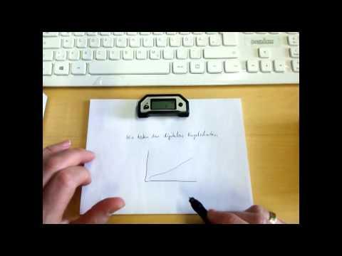 Digitaler Kugelschreiber