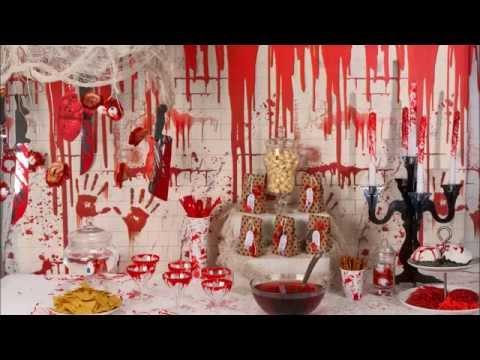 Decoração Halloween Cena de crime murder party