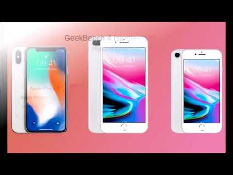 Chip A11 Bionic del iPhone X destruye la competencia en los resultados benchmark