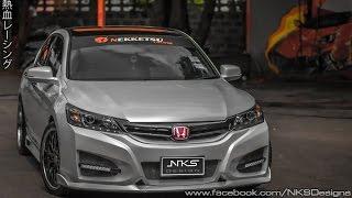 ชุดแต่ง Honda Accord G9 ทรง Type R15 จาก Nekketsu Racing.