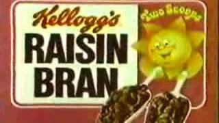 Raisin Bran Two Scoops Commercial